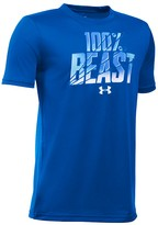 Under Armour Boys' 100% Beast Tech Tee - Sizes S-XL