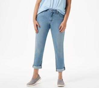 Laurie Felt Petite Classic Denim Boyfriend Jeans