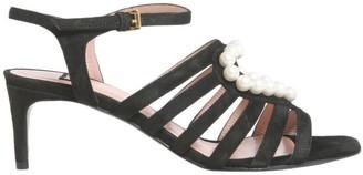 Boutique Moschino Suede Strap Sandals