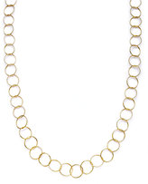 Giani Bernini 24k Gold over Sterling Silver Necklace, Round Link Necklace