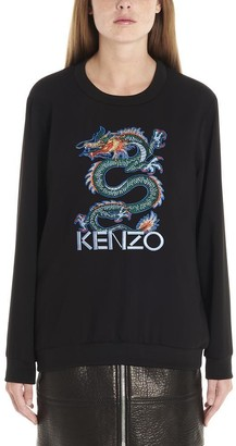 Kenzo Dragon Embroidered Sweater
