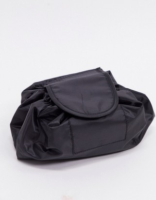 SVNX drawstring make up bag in black
