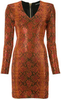 Balmain ornamented knit dress - women - Spandex/Elastane/Viscose/Aluminium/glass - 36