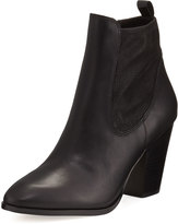 Donald J Pliner Senor Leather Chelsea Boot, Black