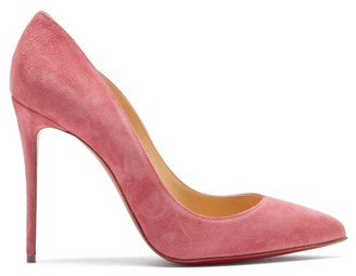 Christian Louboutin Pigalle Follies 100 Suede Pumps - Pink