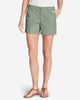 Eddie Bauer Women's Willit Poplin Shorts - Solid