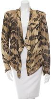 Diane von Furstenberg Blynney Long Sleeve Jacket