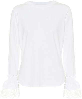 See by Chloe Cotton-jersey top