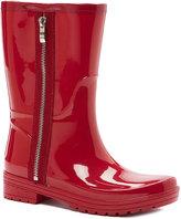 Unlisted Cherry Red Zip-Up Rainboot