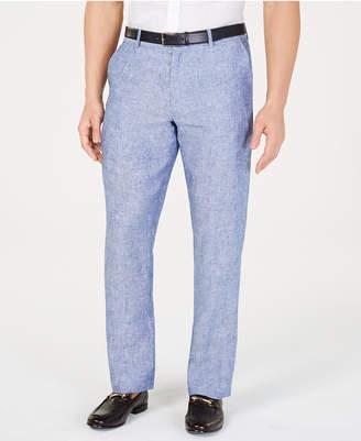 Tasso Elba Men 100% Linen Pants