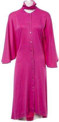 Non Signã© / Unsigned Pink Silk Dresses
