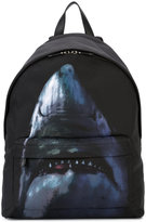 Givenchy shark print backpack - men - Acrylic/Polyamide - One Size