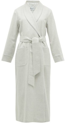 Johnstons of Elgin Johnston's Of Elgin - Cashmere Dressing Gown - Light Grey