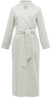 Johnstons of Elgin Johnston's Of Elgin - Cashmere Dressing Gown - Womens - Light Grey