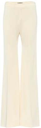 Kwaidan Editions High-rise flared stretch-jersey pants