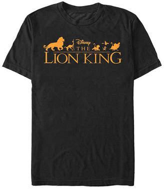 Fifth Sun Logo Mens Crew Neck Short Sleeve The Lion King Graphic T-Shirt