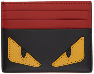 Fendi Multicolor Bag Bugs Card Holder