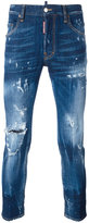 DSQUARED2 Skater distressed jeans - men - Cotton/Polyester/Spandex/Elastane - 56