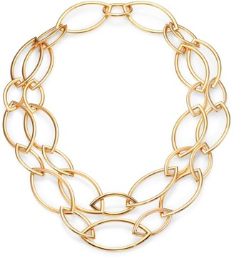 Marquis Pop 18K Rose Gold Chain Necklace