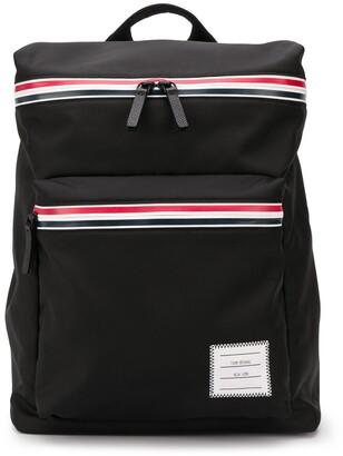 Thom Browne RWB Zip Tape Backpack