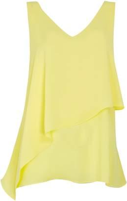 Wallis Yellow Asymmetric Camisole Top