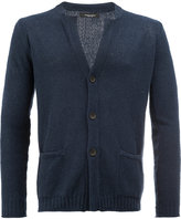 Roberto Collina v-neck cardigan - men - Cotton/Polyamide - 52