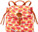 Dooney & Bourke Pomelo Flap Backpack