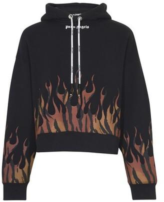 Palm Angels Tiger Flames hoodie