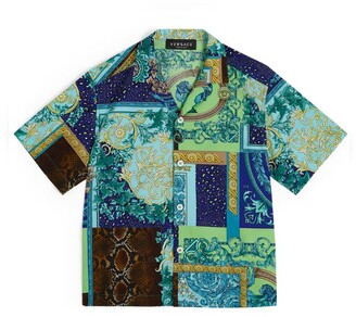 Versace Kids All-Over Print Shirt (4-14 Years)