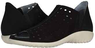 Naot Footwear Hikoi (Black Velvet Nubuck) Women's Boots