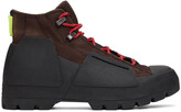 Thumbnail for your product : Converse Burgundy & Black Gore-Tex Chuck Taylor Storm Sneakers