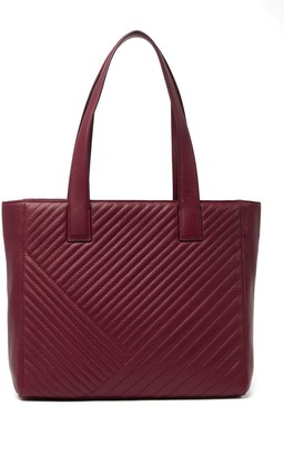 14th & Union Muse Leather Quilted Tote Bag