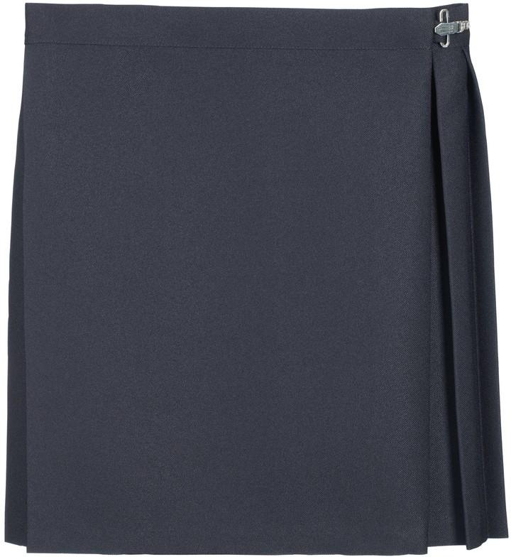 John Lewis & Partners PE Skirt, Navy
