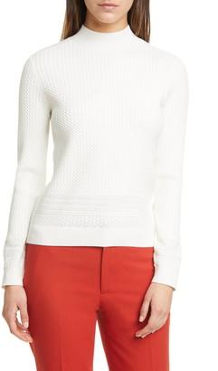 Club Monaco Tiny Cable Sweater