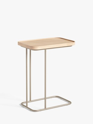 John Lewis & Partners Float Sofa Side Table, Oak