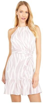 Parker Alma Dress (Soft Zebra) Women's Clothing