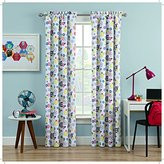 Waverly Kids Wind Me up Single Window Curtain Panel, 42x84, Denim