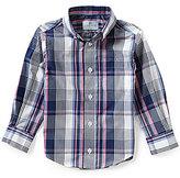 Class Club Little Boys 2T-7 Medium Plaid Sportshirt