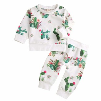 Baby Boys Girls Sleepsuits Sleepwear for 0-24 Months Newborn 3//4 Pcs Cotton Long Sleeve Tops with Hats or Headband Yilaku Baby Clothes Romper Pajamas