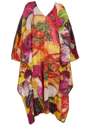 Pleats Please Multicolour Polyester Dresses