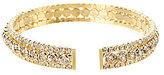 Cezanne Triple-Row Rhinestone Cuff Bracelet