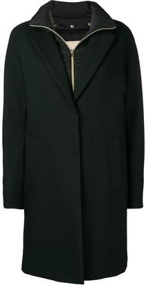 Herno Fleece Lined Overcoat