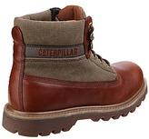 Caterpillar Saga Canvas Leather Boot