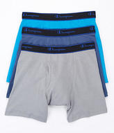 Champion Cotton Performance Boxer Brief 3-Pack