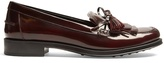 Tod's Gomma fringed leather loafers