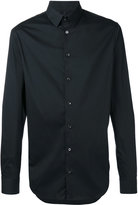 Giorgio Armani buttoned shirt - men - Cotton/Polyamide/Spandex/Elastane - 38