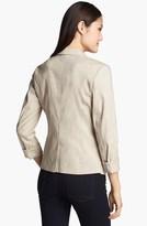 Halogen Linen Blend Blazer (Regular & Petite)