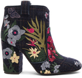 Laurence Dacade Embroidered Wool Pete Booties