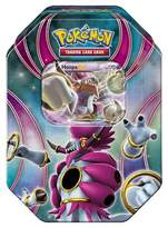 Pokemon 2016 Trading Cards Best of EX Tins featuring Hoopa Board Game