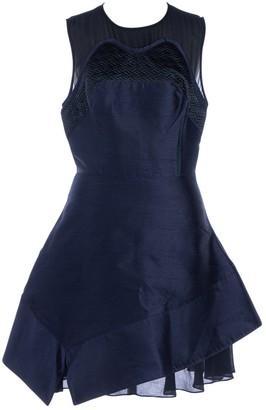 Proenza Schouler Navy Silk Dresses